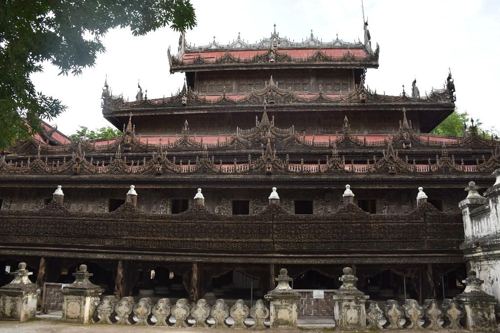 Golden Palace Monastery – Shwenandaw Kyaung Mandalay