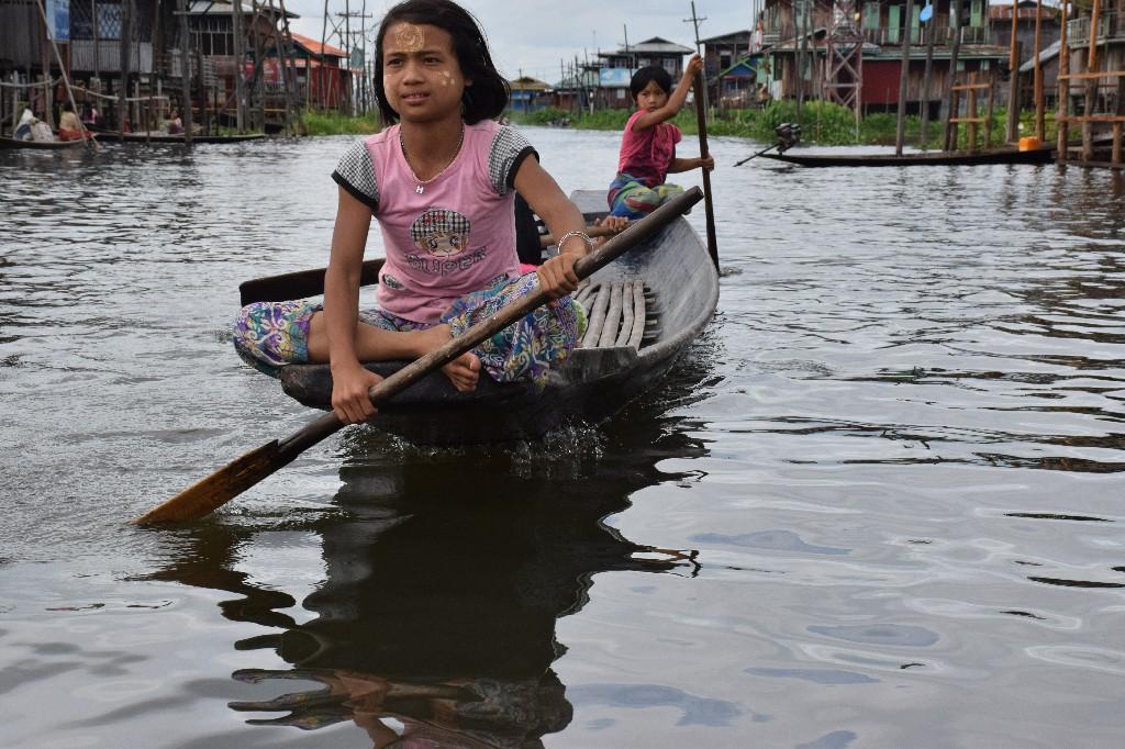 Inlay lake Shan State Myanmar