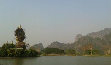 kyauk htat pagoda hpa an Myanmar