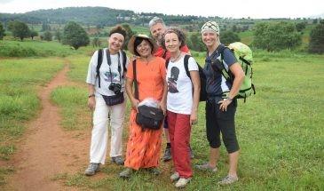 trek to patupauk Kalaw Inlay lake Myanmar