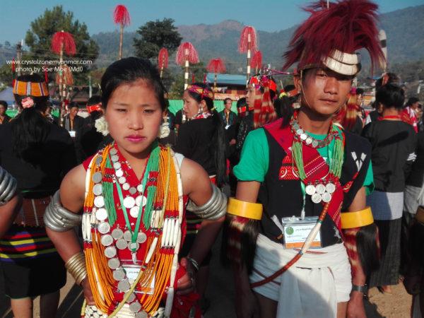 Naga New Year Festival Naga Land Myanmar