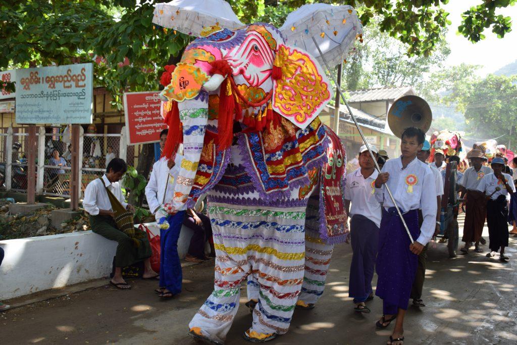 Kyauk Se Elephant dance festival Mandalay – Myanmar