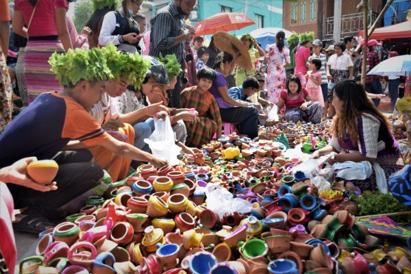 Myanmar Traditional Toys festival