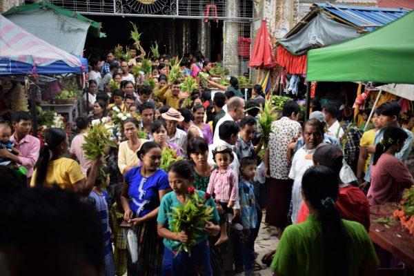 Taung Byone Nat Festival Mandalay Myanmar