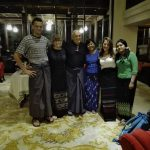 Myanmar longyi traditional dress
