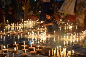 Light festival – Thindingyut festival – Myanmar