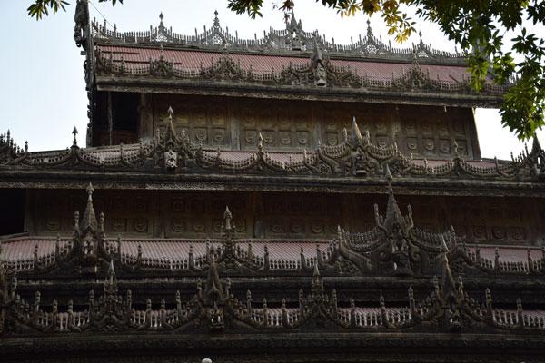 Golden Palace Monastery Mandalay Myanmar