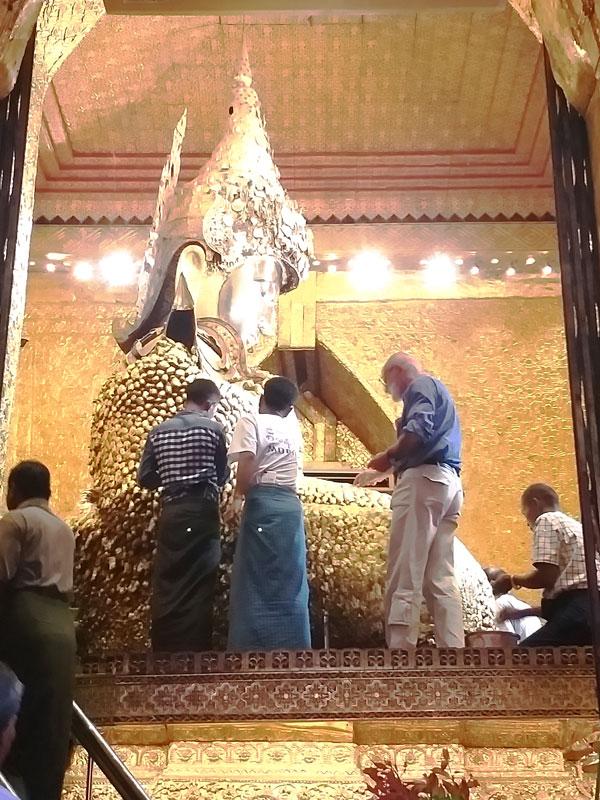 Mahamuni Temple Mandalay