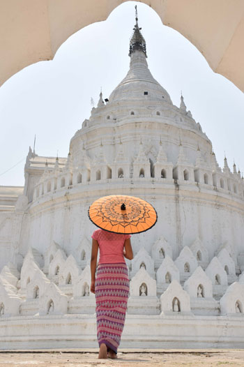 Myatheindan Temple Mingun Myanmar
