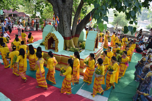 Kasone Buddha Day Festival Myanmar