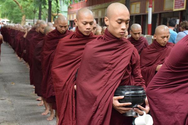 Mahagandayone monastery Amarapura