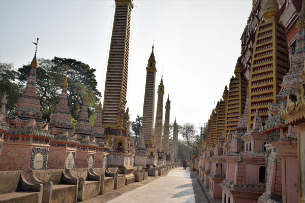 Thanbodhay Temple Monywa Mandalay