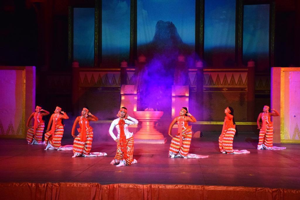Bagan Dandaree show Myanmar